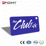 control de acceso Keyfob de la etiqueta dominante del PVC RFID de la proximidad 125kHz