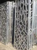 Corte a Laser de alumínio perfurados Tela decorativa Painel fachada sólido de Metal