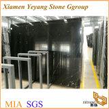 石造りのフロアーリングのための中国Nero Marquinaの大理石の平板、黒い大理石またはタイルまたは階段
