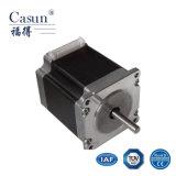 Motor de pasos híbrido prisionero NEMA23 (los 57SHD0008-28M) con TUV, funcionamiento liso motor de paso de progresión de 1.8 grados para tallar la máquina