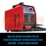 Mosfet gelijkstroom Machine van het Lassen van de Lasser Zx7-250 van de Omschakelaar 200A de Anti Plakkende
