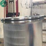 ペーパーパルプ装置機械のためのSsの金網圧力スクリーンのドラム/Basket