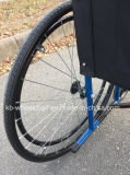 , 유럽식, 강철 수동 휠체어 접히기