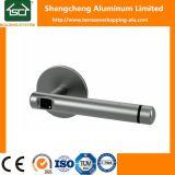 Maneta de puerta de aluminio modificada para requisitos particulares con diversos colores