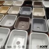 Künstliche doppelte Filterglocke Undermount Küche-Steinwanne