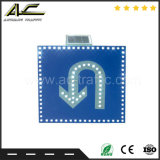 道の機密保護の非常停止の統合されたアルミニウムボードの太陽交通標識