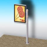 ライトボックスを広告するアルミニウムランプのポール・ライトBoxmetal Mupi
