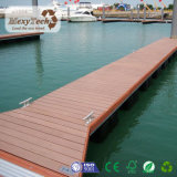 Decking extérieur composé en bois de produits de WPC