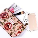 型花の印刷された袋の女性は袋に旅行硬貨袋のオルガナイザーの記憶の美のケースのための袋を構成させる