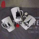 tazze di ceramica dell'osso della Cina della tazza di caffè di marchio su ordinazione ecologico 12oz nuove