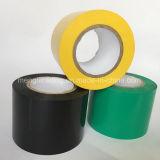 PVC incombustible de los 0.18mm*50mm*10m que envuelve la cinta del tubo del conducto