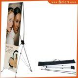 Поощрение складные рекламы дисплей печать плакатов регулируемая подставка для баннера X