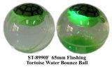 Nuevo juguete de la bola de la despedida del agua del unicornio del OEM 65m m