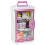 Portable porte en verre Poignée verrouillable boîte du Kit de premiers secours