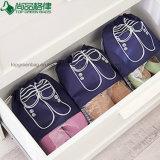 Ver o saco não tecido interno das sapatas do Drawstring do malote da poeira da corda da tração