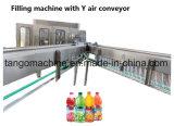 Auto bouteille Pet boisson gazeuse de l'eau de lavage doux Buvez du jus de remplissage et de plafonnement de l'unité 3 en 1 de l'embouteillage usine de la machine avec système de traitement de l'eau