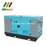 30квт электрической дизельного топлива с низким уровнем шума звуконепроницаемых дизельного генератора цена