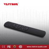 Zwarte Van uitstekende kwaliteit van de Versterker van Bluetooth van de Hoofdtelefoon Dac van de Speler van Vistron de Digitale Audio Ingebouwde