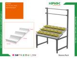 Kleinbananen-Bildschirmanzeige-Zahnstangen-Standplatz-Tisch