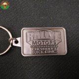 Мода металлические печати цепочки ключей из нержавеющей стали