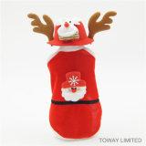 Robe de chien de Rennes de noël vacances Pet Santa Claus Cosplay Vêtements