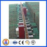 Alzamiento doble de la construcción de las jaulas del equipo de elevación Sc100/100, mini grúas del alzamiento de la construcción