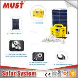 LED 3W 10W 20W 30W 9V 18V mini système solaire