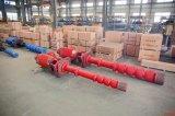 Pompe centrifuge de longue turbine verticale à plusieurs étages d'arbre