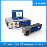 Laser da fibra da máquina da marcação do código de Qr para o frasco do HDPE (EC-laser)
