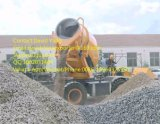De mobiele Zelf Concrete Mixer van de Lader van de Lading