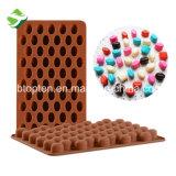55-гнездная немолотого кофе шоколад силикон пресс-формы для выпечки