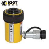 Cilindro hidráulico do melhor atuador oco ativo de Kiet da qualidade único