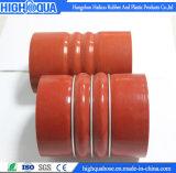 Mangueira de superfície lisa do silicone da corcunda do fio de aço da melhor qualidade