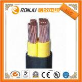Precio de fábrica de la armadura de Sta del aislante del PVC del cable de transmisión de la armadura del IEC 502 0.6/1kv Vav 3X95+50mm2