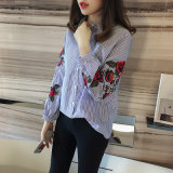 Signora Embroidered Shirt Casual Fashion