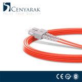 LC FC de Sc St UPC APC Cable de fibra óptica