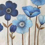 꽃을 피우는 꽃 색칠 - 화포 벽 예술