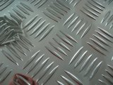 Plaque de la voie d'aluminium/feuille avec cinq barres