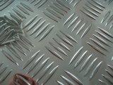 Bobina/strato di alluminio impressi con cinque barre