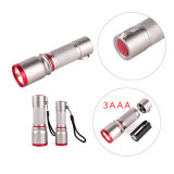 3W алюминия светодиодный фонарик початков (11-JB1801 3AAA)