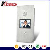 Intercomunicador video del teléfono de la puerta del IP de la BI-Dirección Emergency de dos vías del intercomunicador