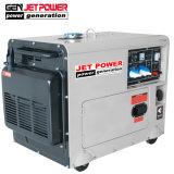 Низкий уровень шума 5 квт 4.5kw Silent Передвижные воздушные компрессоры с водяным охлаждением дизельного генератора
