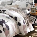Preiswerte Preis-Baumwollbettwäschegedrucktes Duvet-Deckel-Blumenset