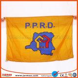 Banner promocional de poliéster personalizadas con impresión a todo color (JMF-53)