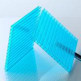 Feuille jumelle de polycarbonate de tente de pluie de feuille de cavité de PC de mur de Makrolon 8mm