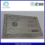 VIPのカード名のカードの金属はビジネスIDのカードをエッチングした