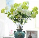 Fleurs artificielles de gros bouquet de mariage en vrac bon marché de la soie artificielle Fleur artificielle de l'hortensia Irlande mariage