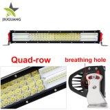 La meilleure barre tous terrains d'éclairage LED de volt 4X4 de la barre 12 d'éclairage LED de rangée de la qualité 4