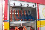 비상사태 구조 트럭은 특별한 차량 부속품 알루미늄 사다리를 분해한다
