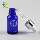 化粧品のための15ml青の精油のガラスビン